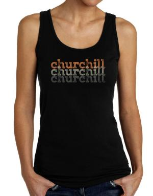 Churchill repeat retro Tank Top Women