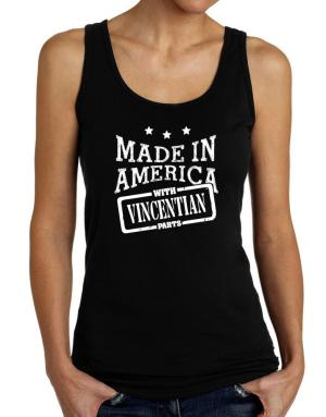 Made in America with Vincentian parts Tank Top Women