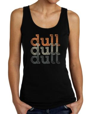 dull  repeat retro Tank Top Women