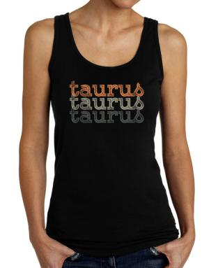 Taurus repeat retro Tank Top Women