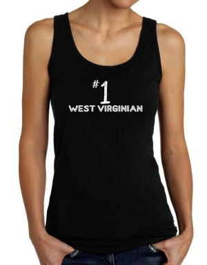 Number 1 West Virginian Tank Top Women