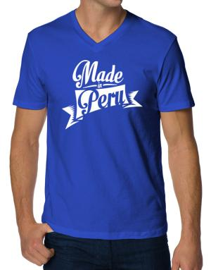 Made in Peru V-Neck T-Shirt
