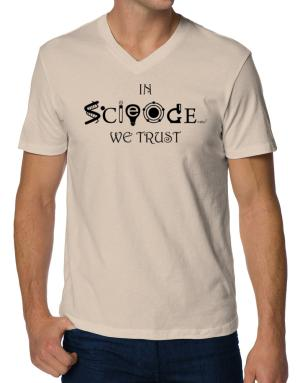 In Science We Trust V-Neck T-Shirt