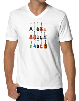Guitar Players Are Well Strung V-Neck T-Shirt