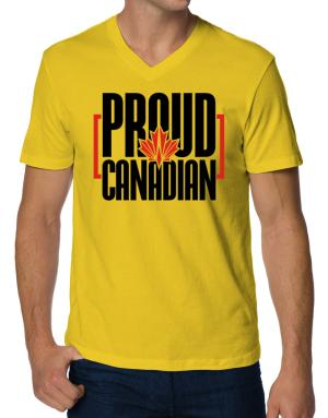 Canada proud Canadian V-Neck T-Shirt