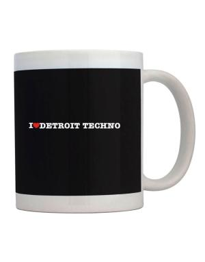I Love Detroit Techno Mug