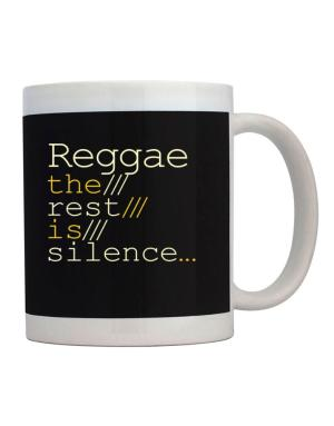 Reggae The Rest Is Silence... Mug