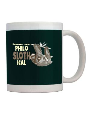Taza de Philosophical Sloth