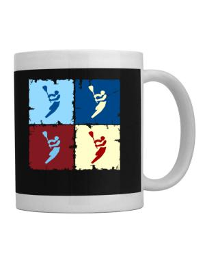Lacrosse - Pop Art Mug