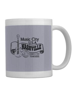 Music city Usa Nashville Tennessee Mug