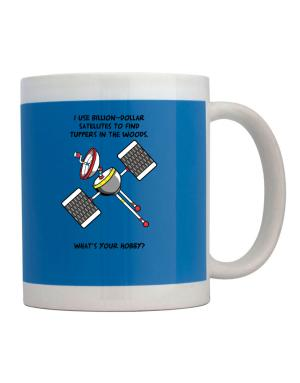 Geocaching, Billion dollar satellites Mug