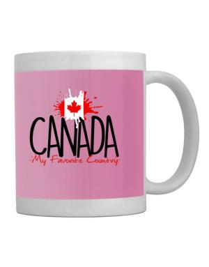 Canada my favorite country Mug
