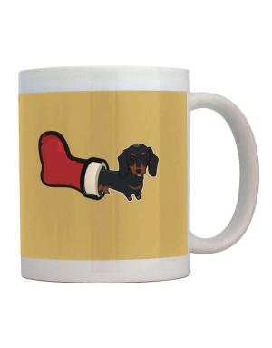 Taza de Dachshund Stocking Stuffer