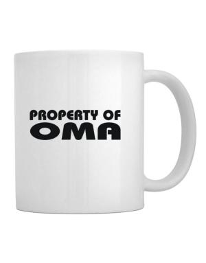 """ Property of Oma "" Mug"