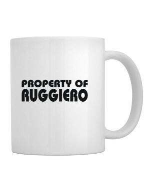 """ Property of Ruggiero "" Mug"