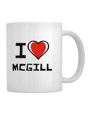 I Love Mcgill Mug