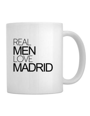 Real men love Madrid Mug