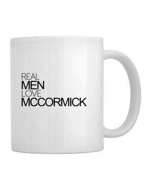 Real men love McCormick Mug