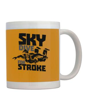 Skydive for stroke skydiving Mug