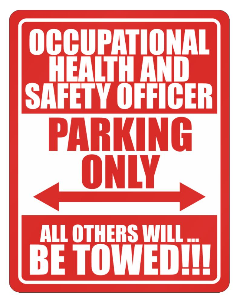 Occupational Medicine Specialist Parking Only - All Others Will Be Towed
