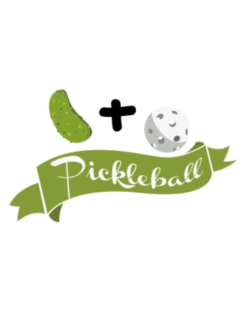 Pickle plus ball equals pickleball