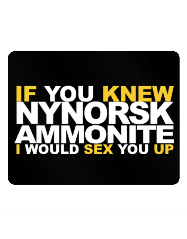 If You Knew Ammonite I Would Sex You Up