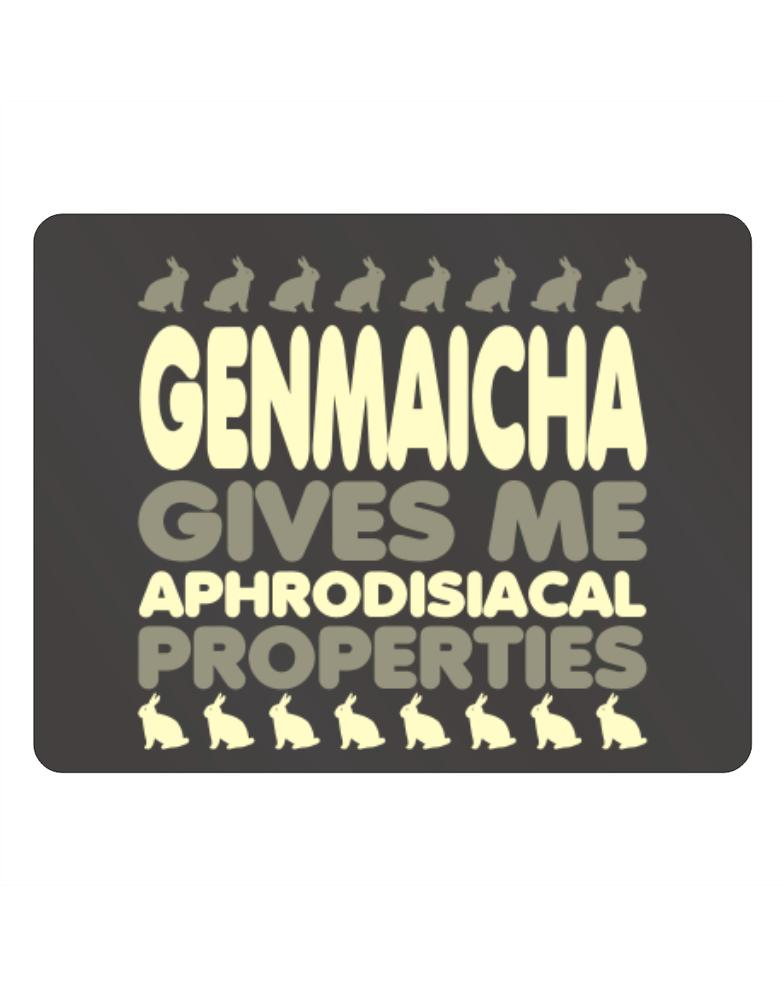 Genmaicha Gives Me Aphrodisiacal Properties