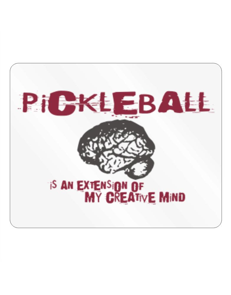 Pickleball Is An Extension Of My Creative Mind