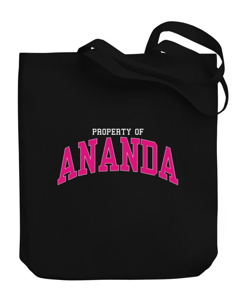 Property Of Ananda