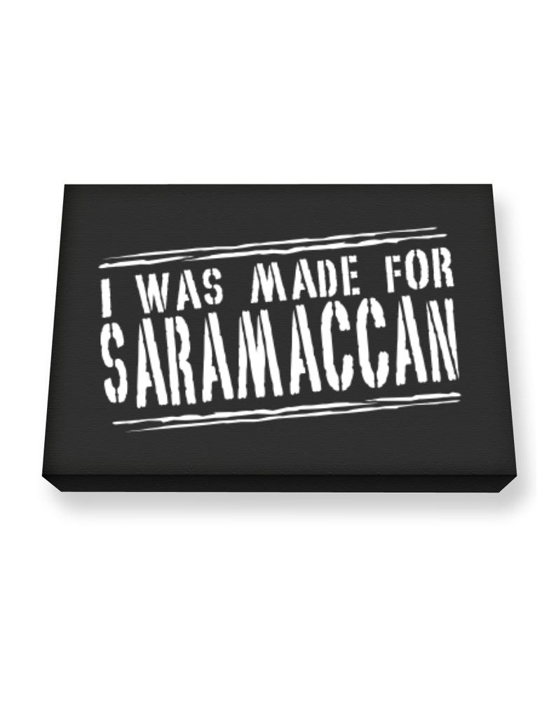 I Was Made For Saramaccan