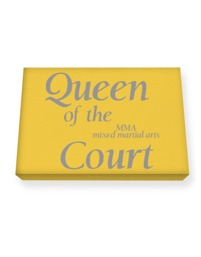 Queen of the MMA Mixed Martial Arts court