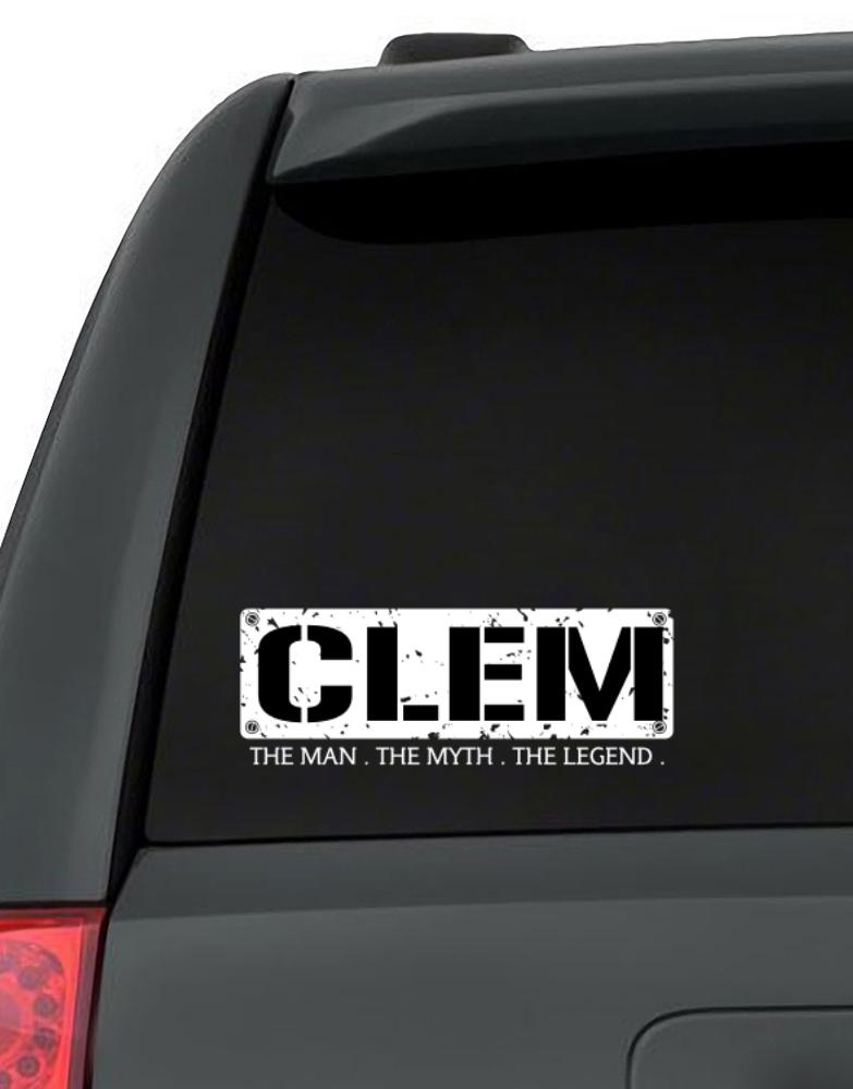 Clem : The Man - The Myth - The Legend