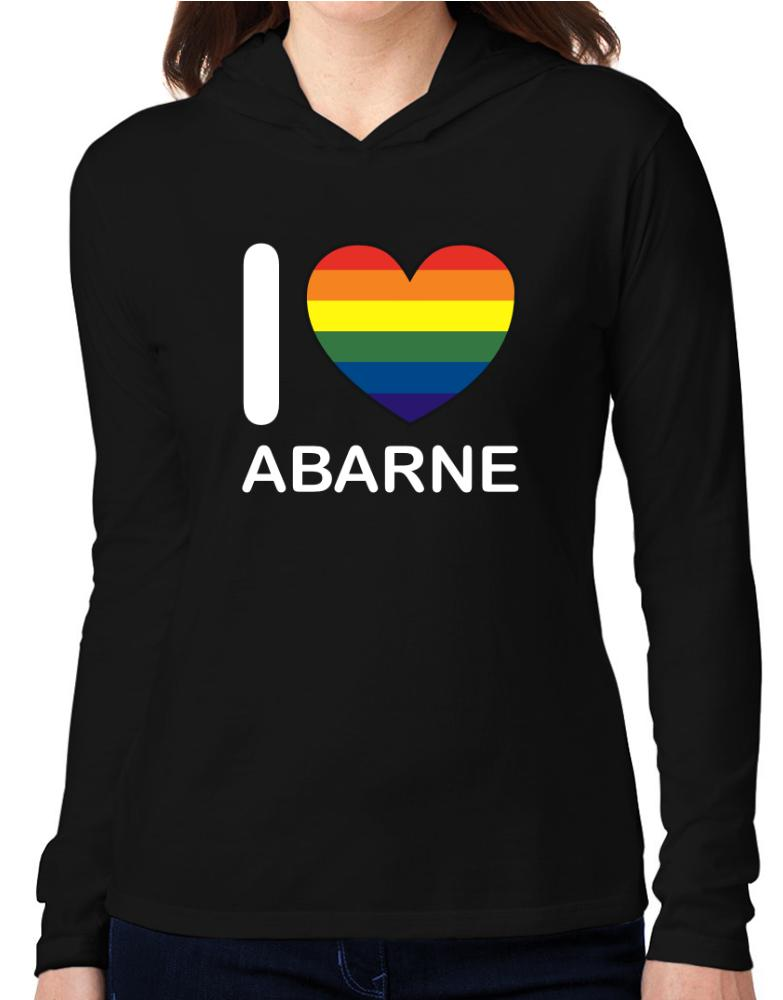 I Love Abarne - Rainbow Heart