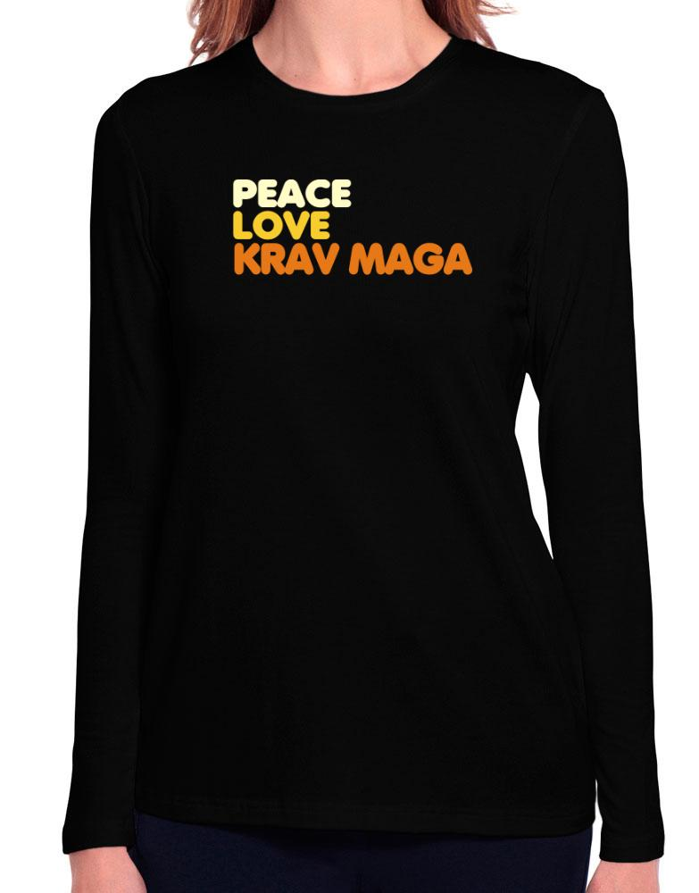 Peace , Love And Krav Maga