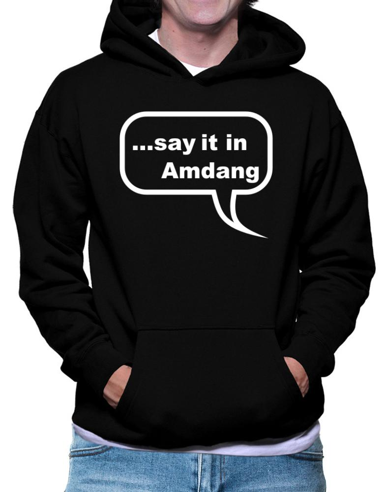Say It In Amdang