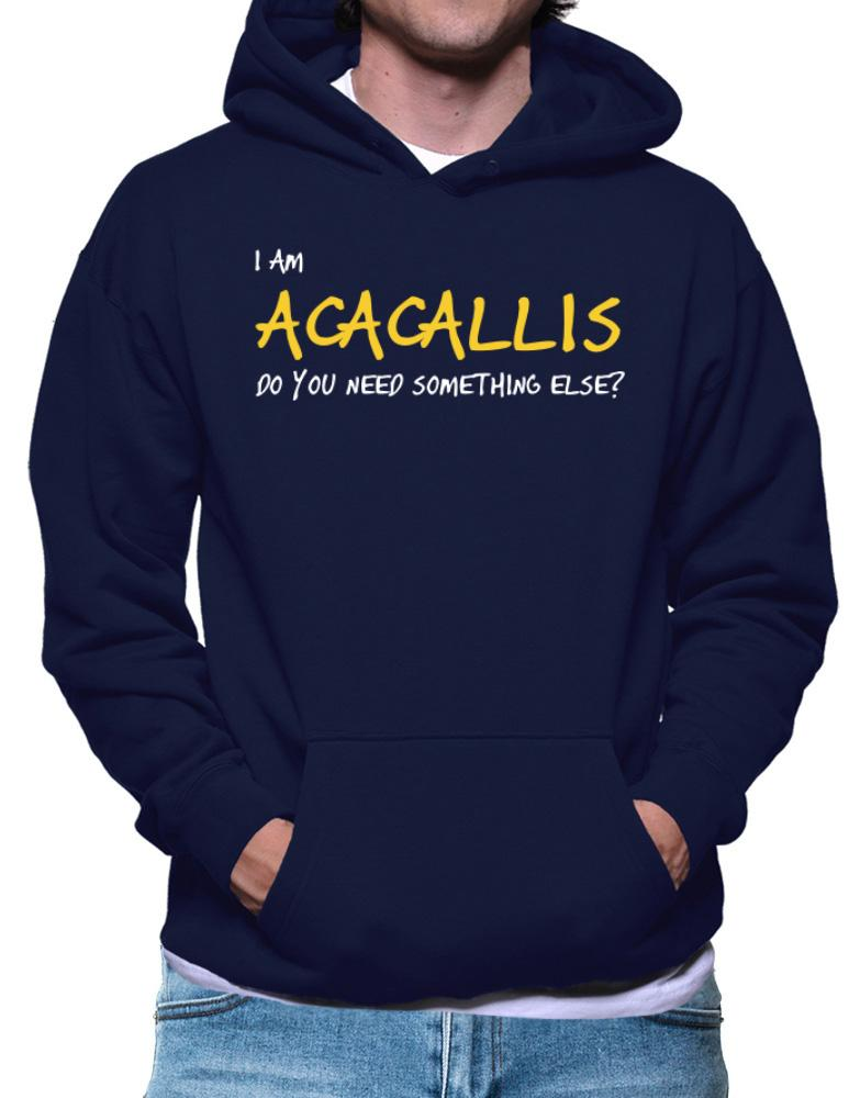 I Am Acacallis Do You Need Something Else?