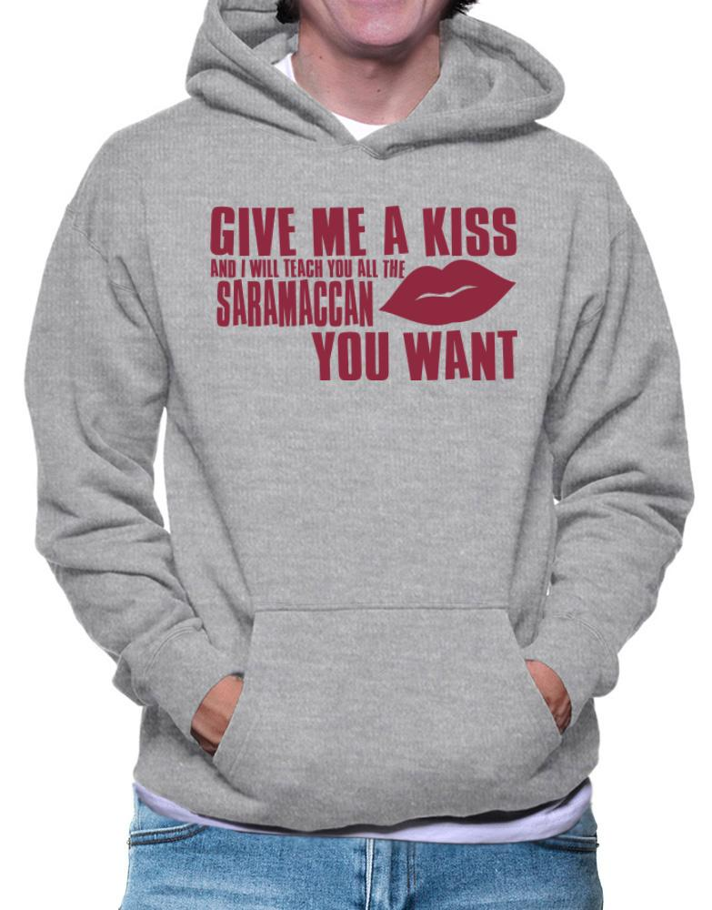 Give Me A Kiss And I Will Teach You All The Saramaccan You Want