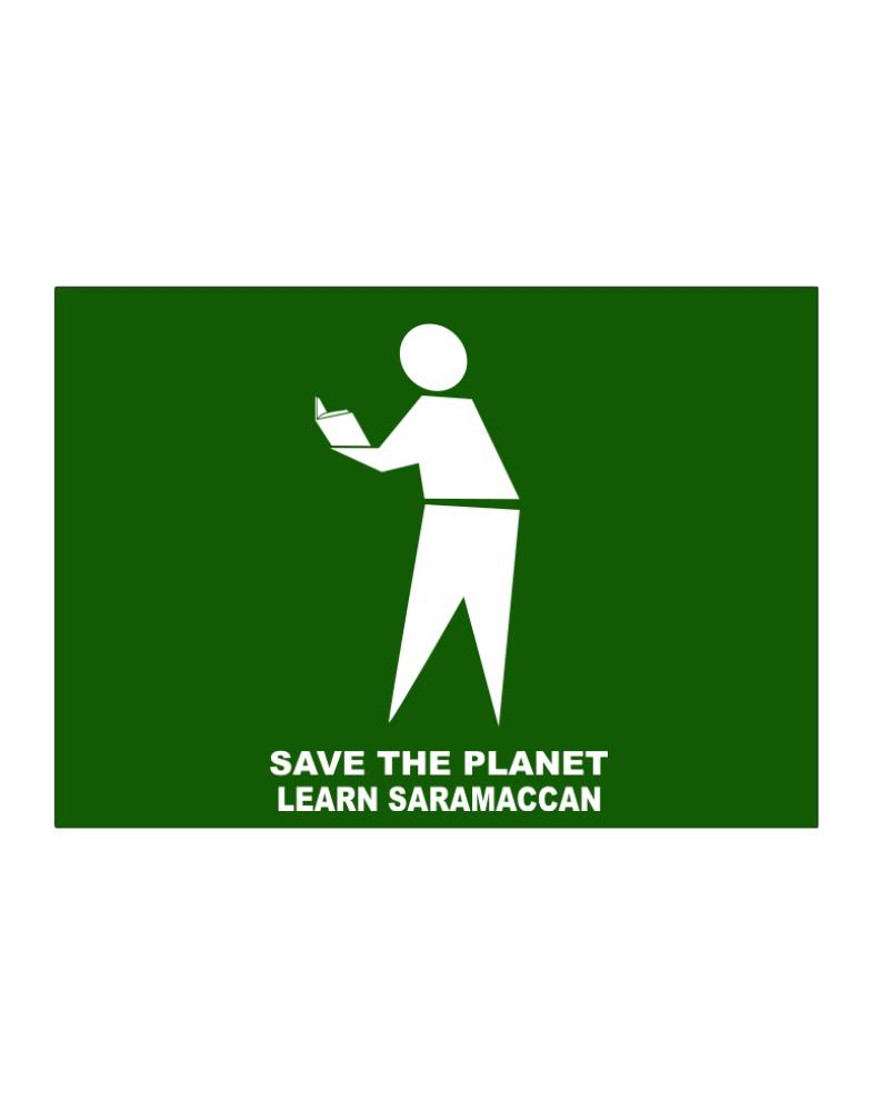 Save The Planet Learn Saramaccan