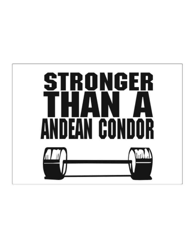 Stronger Than An Andean Condor