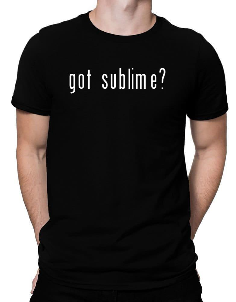 Got Sublime?