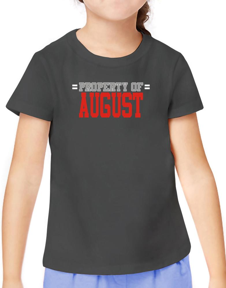 """"""" Property of August """""""