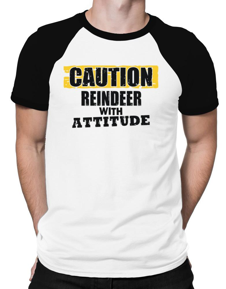 Caution - Reindeer With Attitude