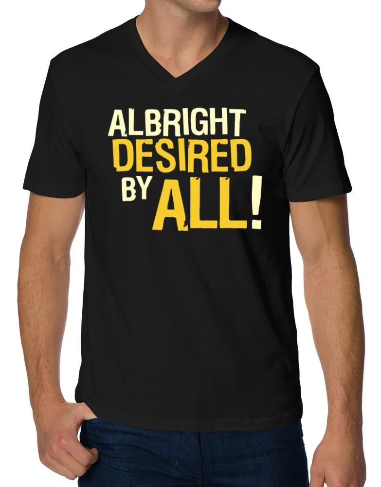 Albright Desired By All!