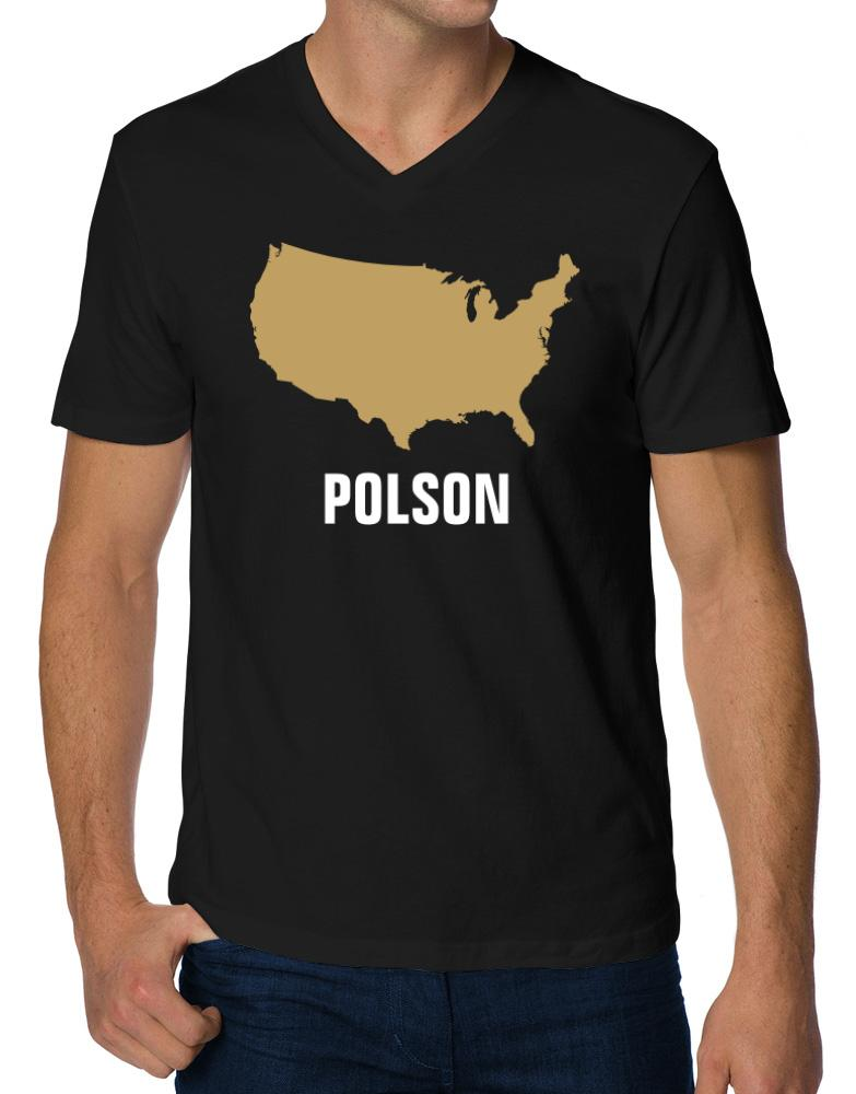 Polson - Usa Map