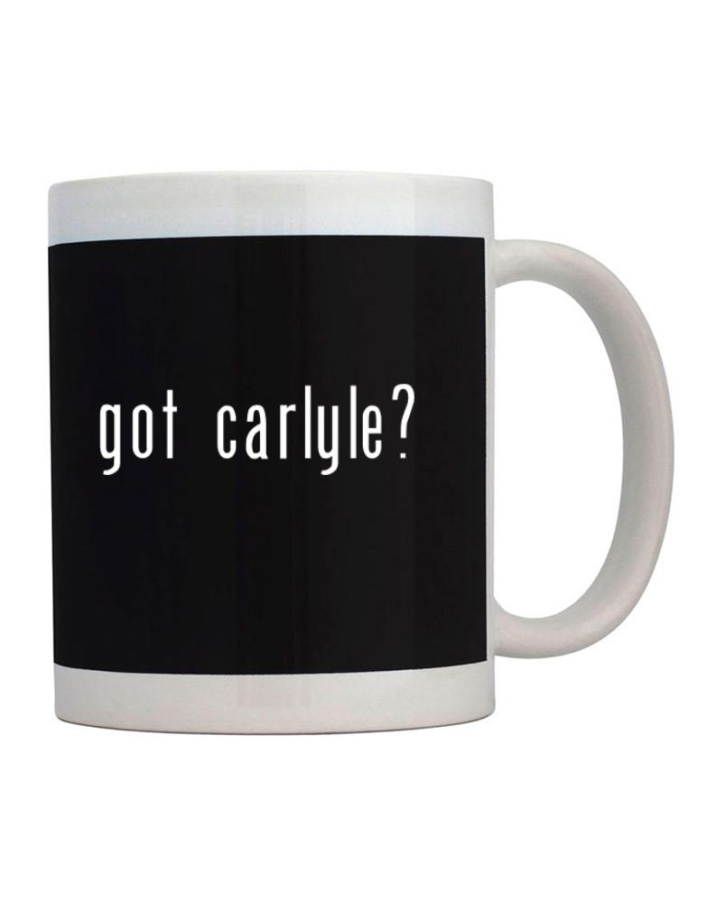Got Carlyle?