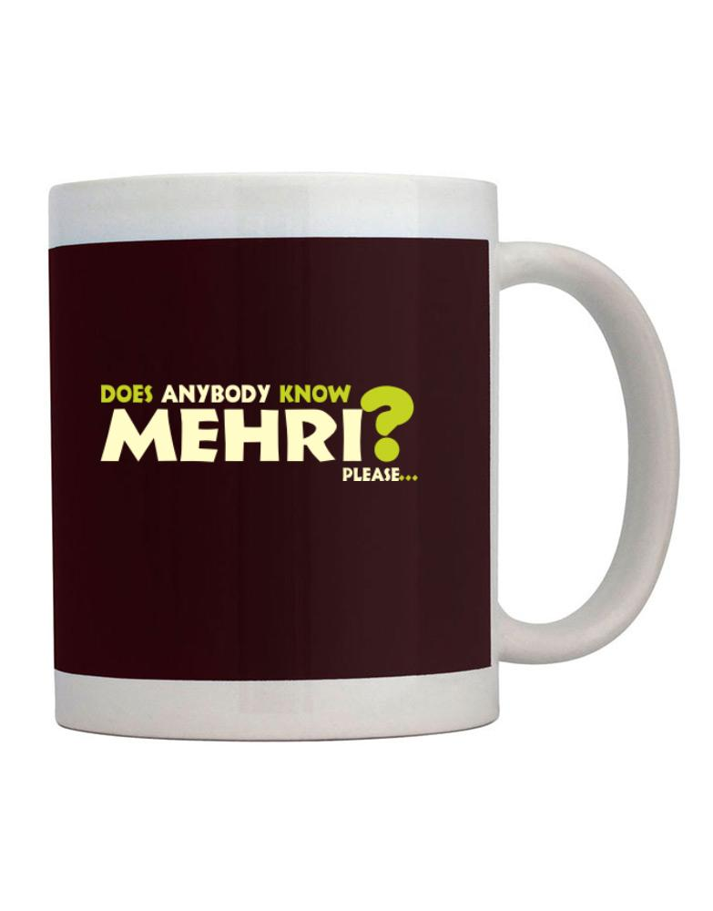 Does Anybody Know Mehri? Please...